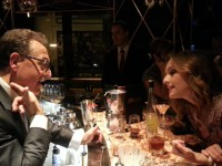 Salvatore and Giada DeLaurentiis at Bound by Salvatore Calabrese at the Cromwell Las Vegas