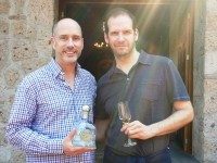 Casa Noble's Pepe Hermosillo and writer EC Gladstone